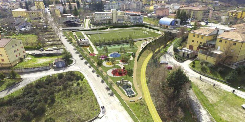 LA GALA Costruzioni - Parco Sportivo in Ambito Urbano - Pignola